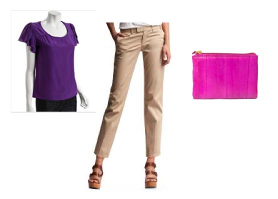 how to wear khakis