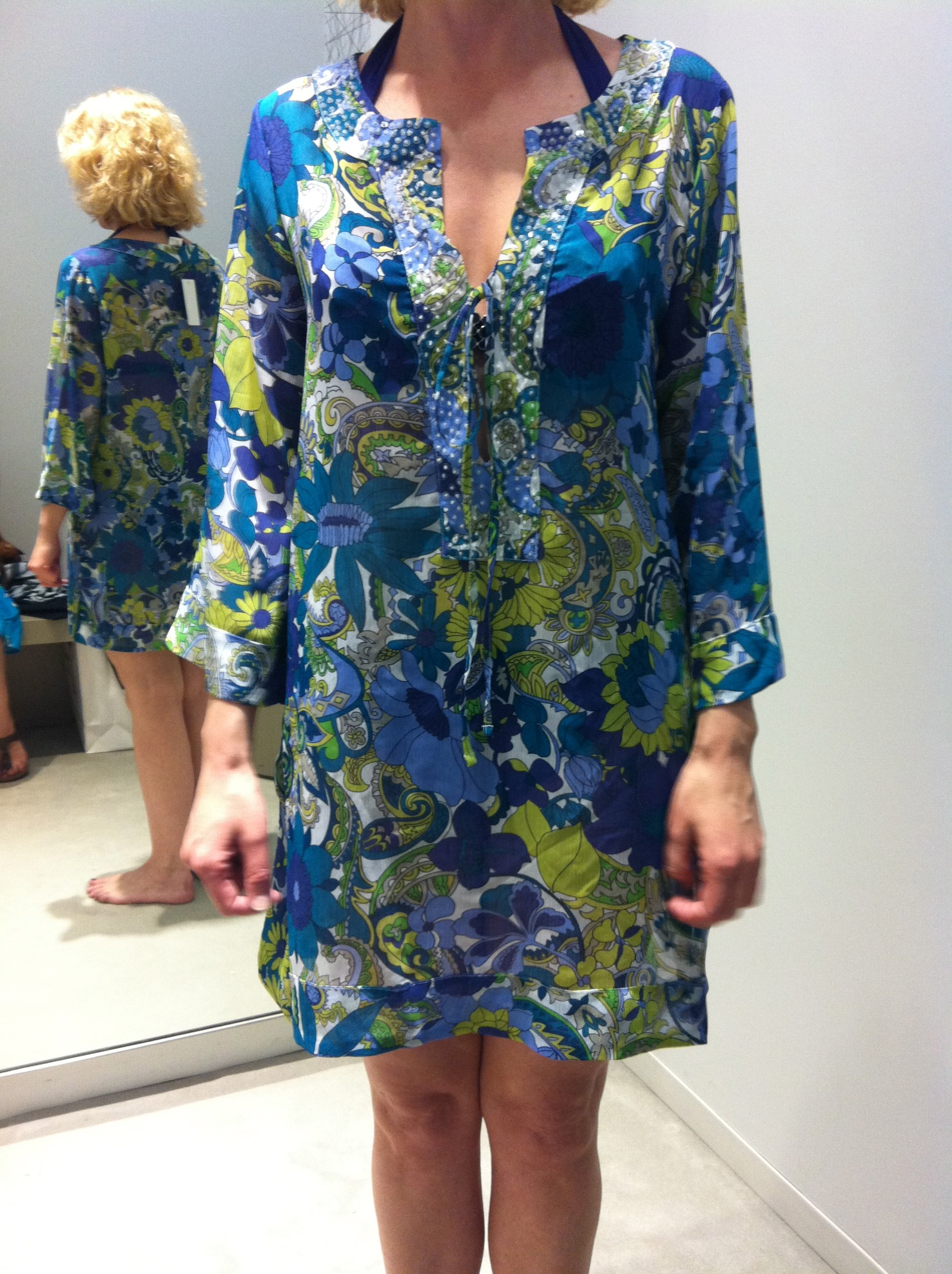 Behind the Scenes: Ms. Chic's Favorite Bathing Suit Coverup