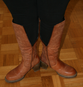 Boots for large calves