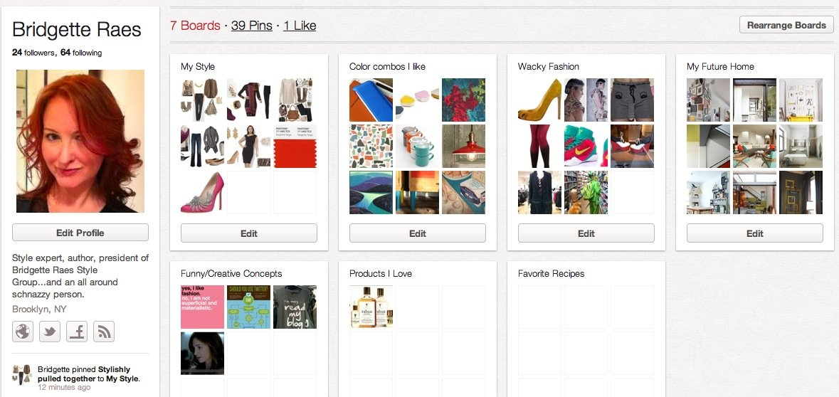 Using Pinterest to Find Your Personal Style