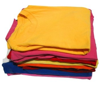 How to Fold a T-Shirt in One Fold