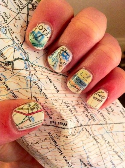 Pretty or Pretty Ugly? Map Manicures