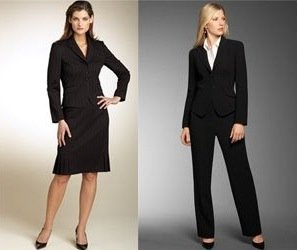 Do Skirt Suits Make a Better First Impression Than Pantsuits?