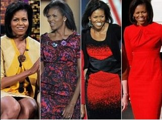 Michelle Obama Fashion: Barack Obama Re-Elected while Michelle Obama Re-wears a Dress