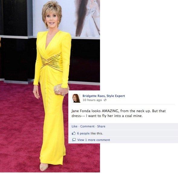 Oscar Fashion 2013