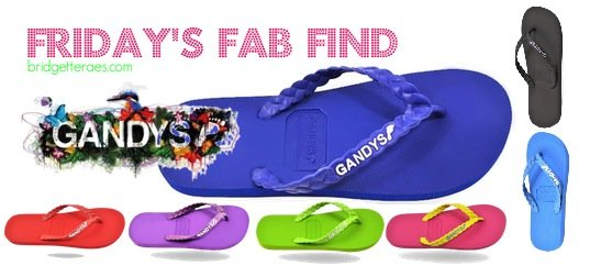 Friday's Fab Find: Gandys Flip Flops