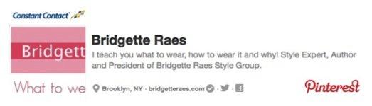 Bridgette Raes Pinterest
