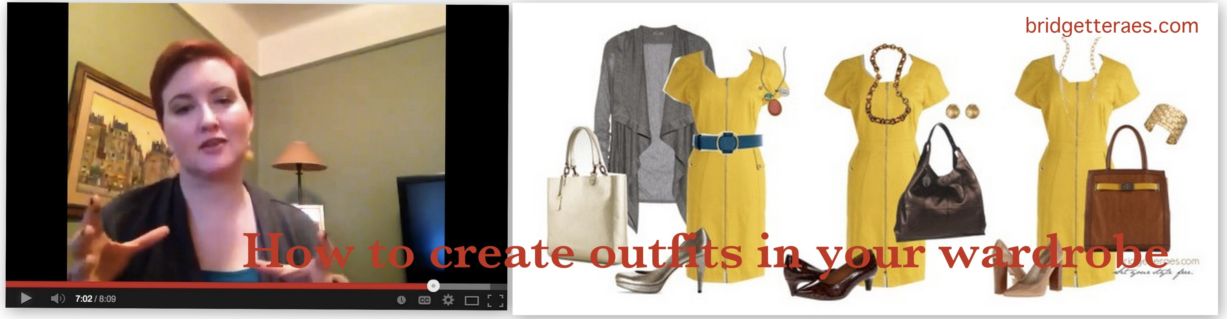 How to Create Outfits in Your Wardrobe (Video)
