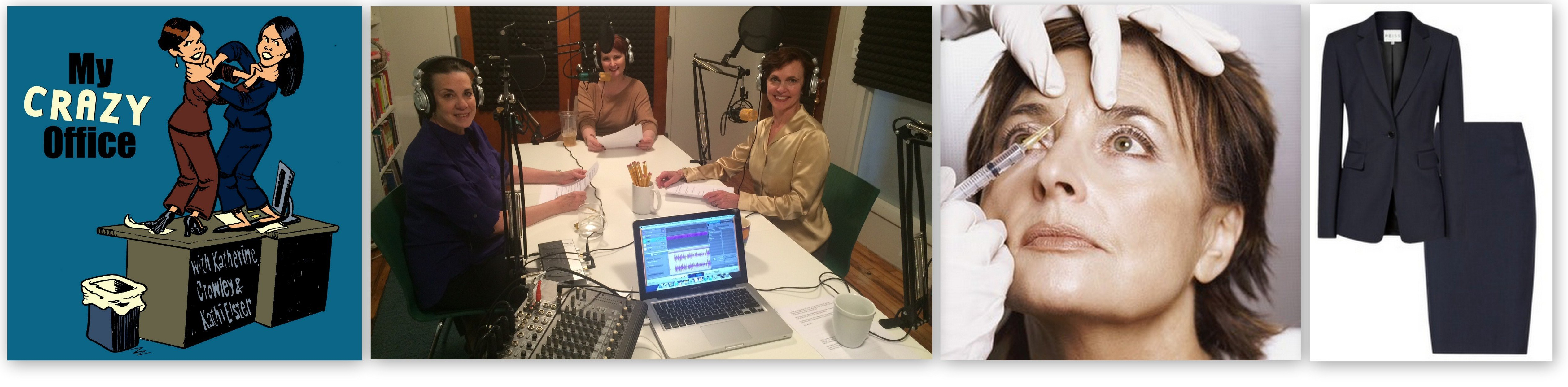 Botox & Business Suits: Listen to My Guest Appearance on My Crazy Office