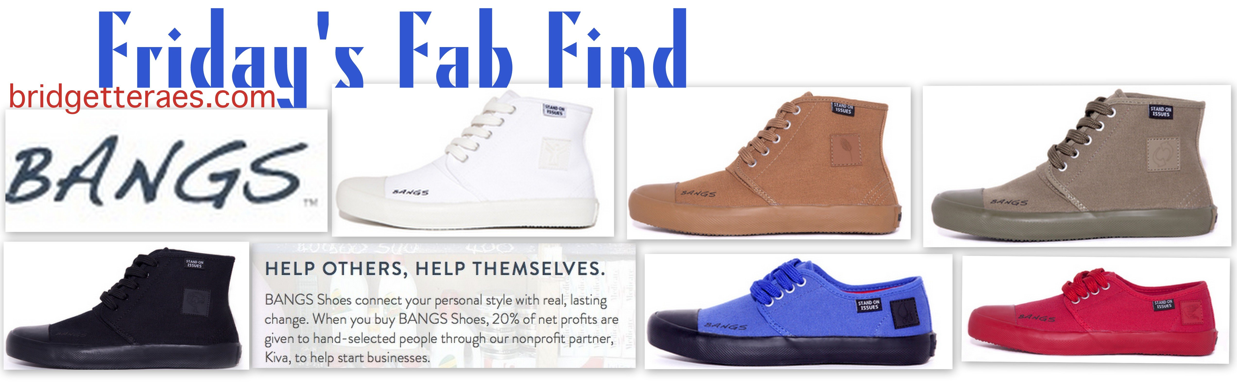 Friday's Fab Find: Bangs Shoes