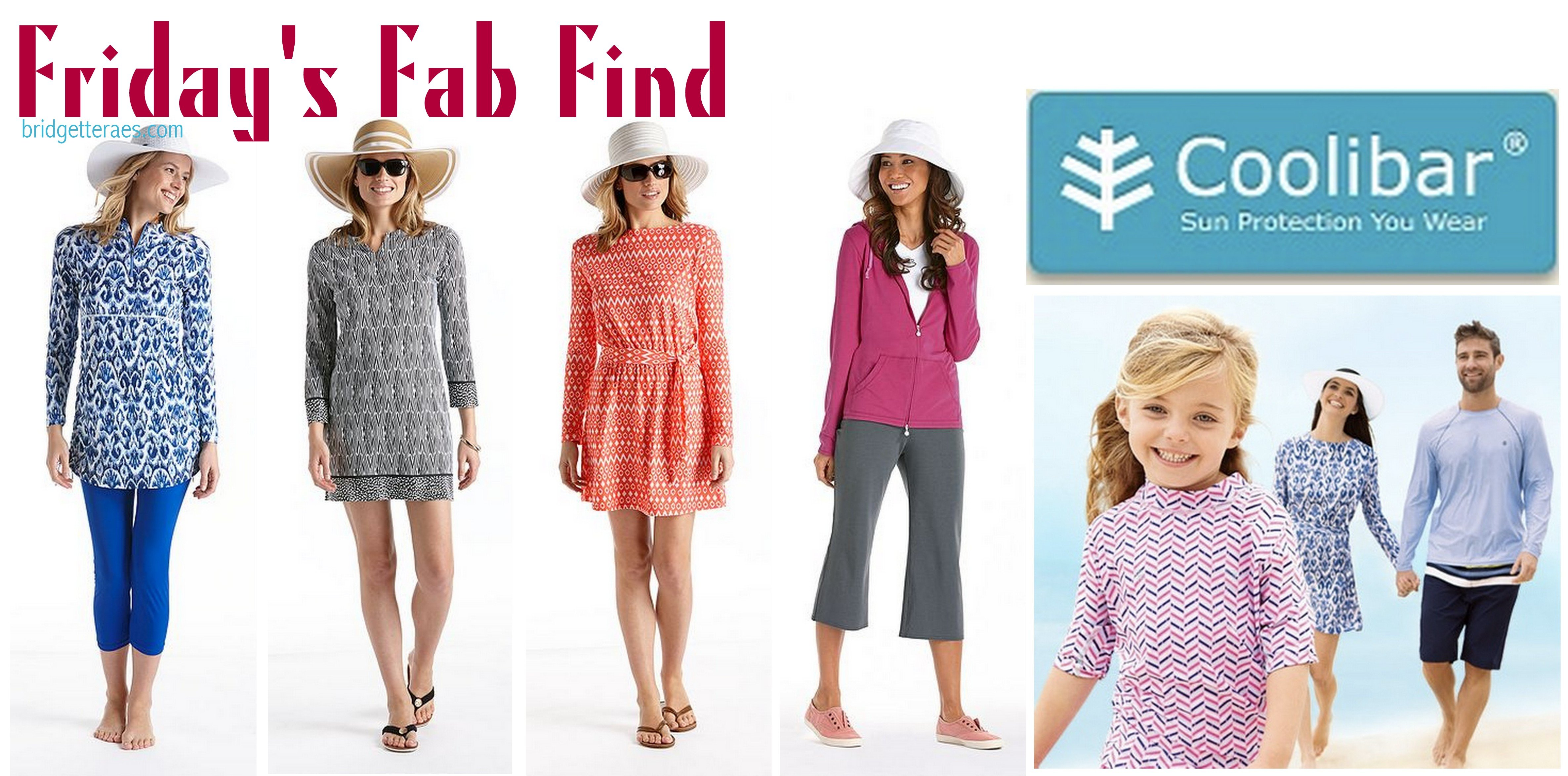 Friday's Fab Find: Coolibar, Sun Protective Clothing