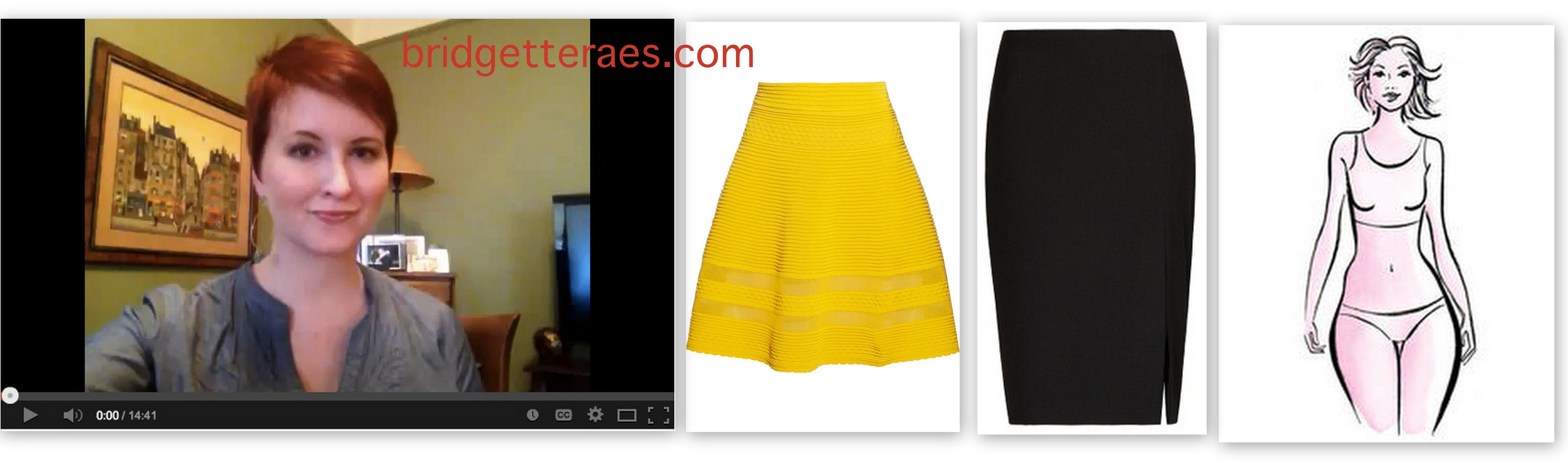 Best Skirt Styles for Pear Shaped Bodies (Video)