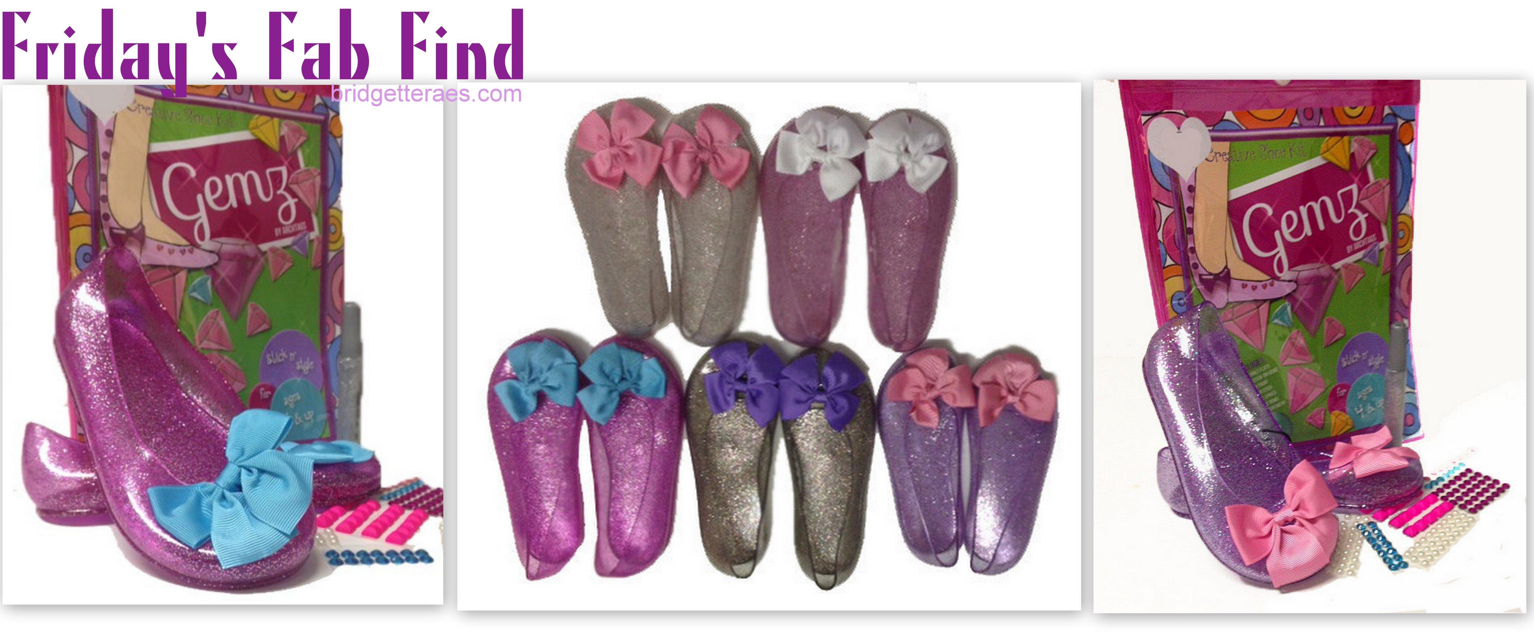 Friday's Fab Find: Gemz Shoe Craft Kit