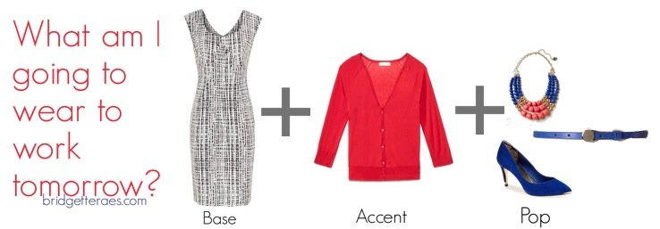 Base, Accent, Pop: Adding Color to Work Outfits