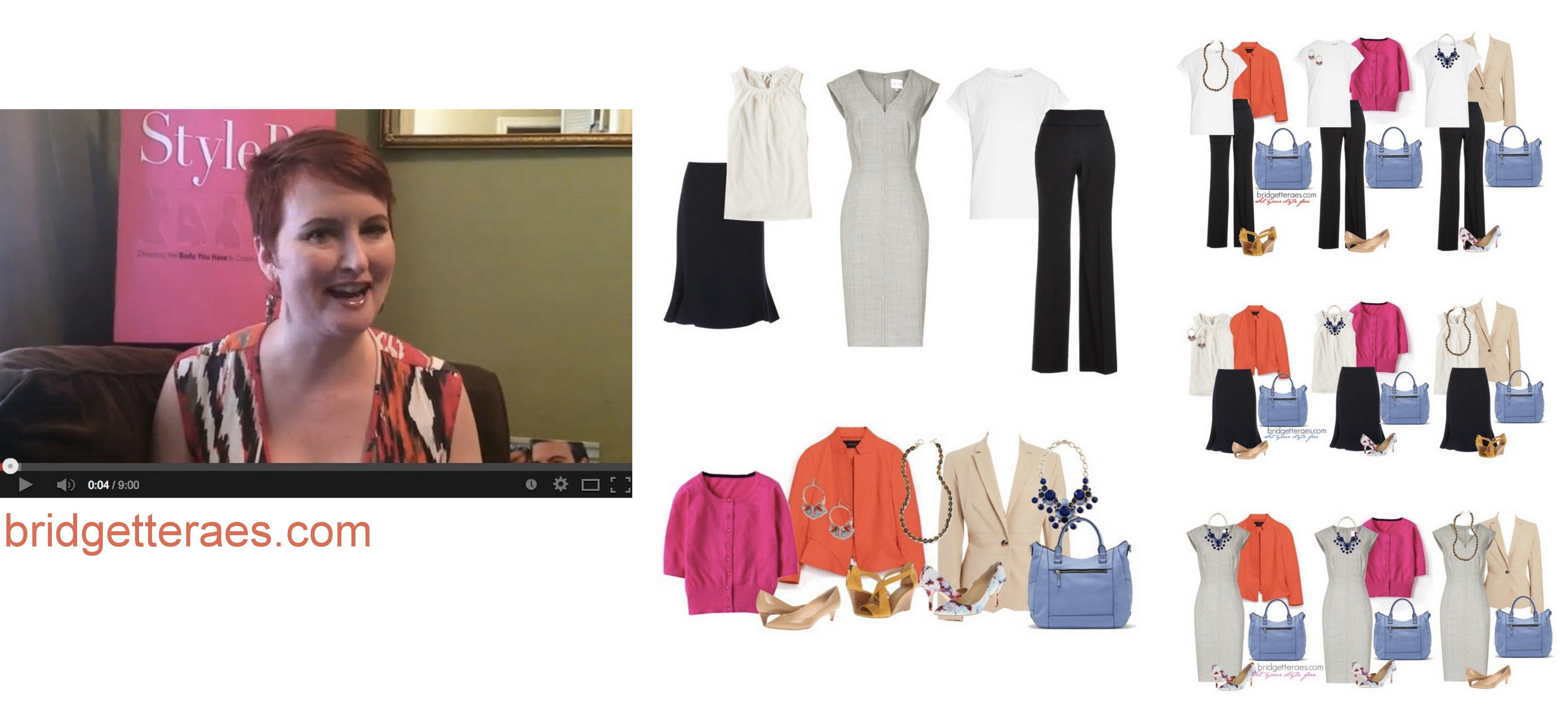 Capsule Wardrobe Tips for Work (Video)