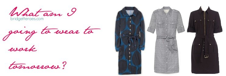 How to Wear a Shirtdress to Work