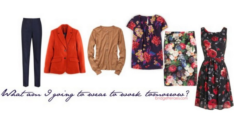 How to Wear Fall Florals to Work