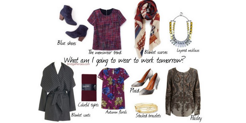 How to Add Fall Trends to Basic Work Pieces