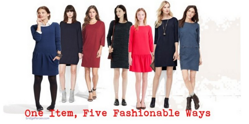 How to Wear Easy Shift Dresses This Fall