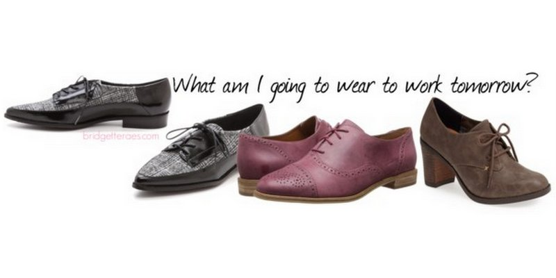 How to Wear Oxfords to Work