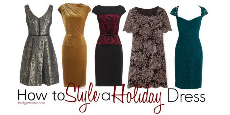 Exquisite Holiday Dresses and How to Style Them
