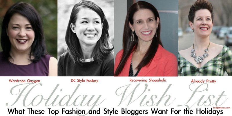 What These Top Fashion and Style Bloggers Want for the Holidays