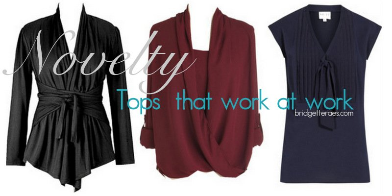 Novelty Tops For Work That Work