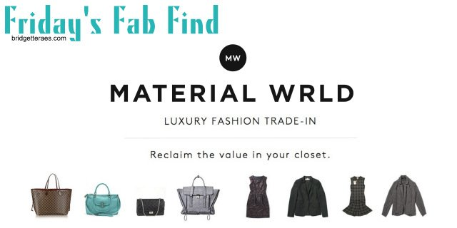 Friday's Fab Find: Material Wrld
