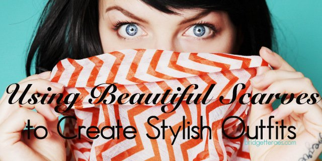 How to Style Colorful Scarves