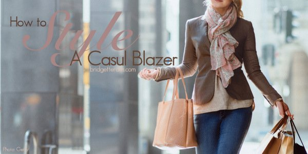 How to Wear Casual Blazers