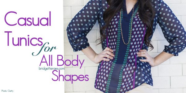 Figure Flattering Tunic Tops: How to Choose the Right Shape
