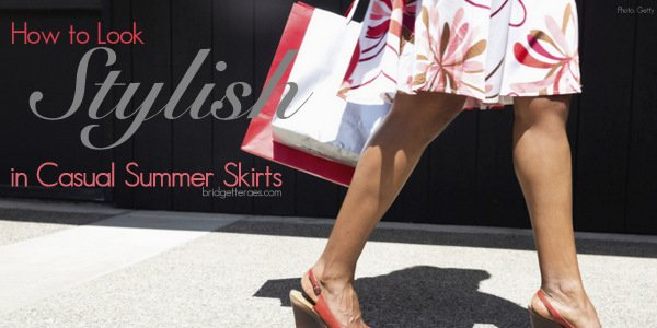 Stylish Casual Summer Skirts that Replace Shorts