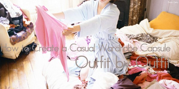 How to Create a Casual Wardrobe Capsule Outfit by Outfit