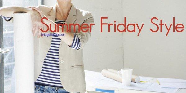 How to Dress Casually Stylish on Summer Fridays