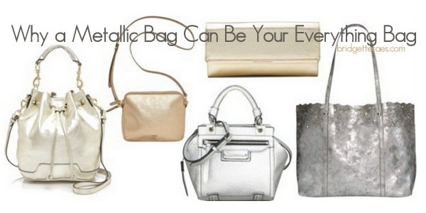 Metallic Handbags: The Everything, Everywhere Bags