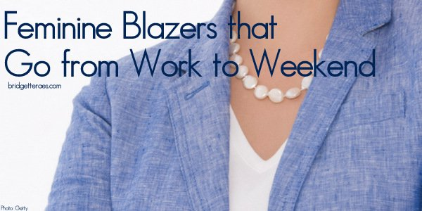Feminine Blazers for Work and Weekend