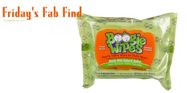 Friday's Fab Find: Boogie Wipes