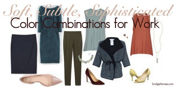 Stylish, Subtle and Sophisticated Color Combinations for Work