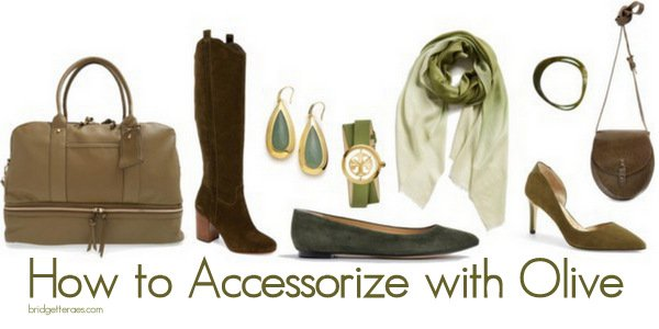 How to Accessorize with Olive This Fall