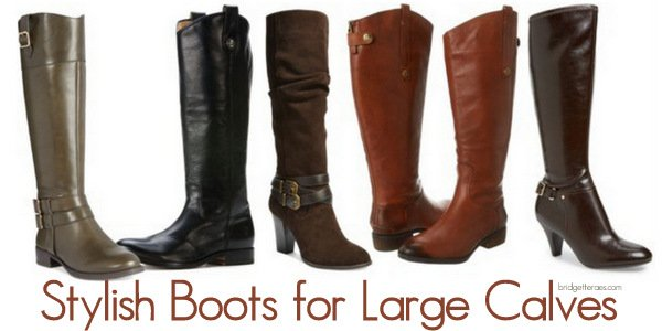 Stylish Boots for Large Calves and How to Style Them