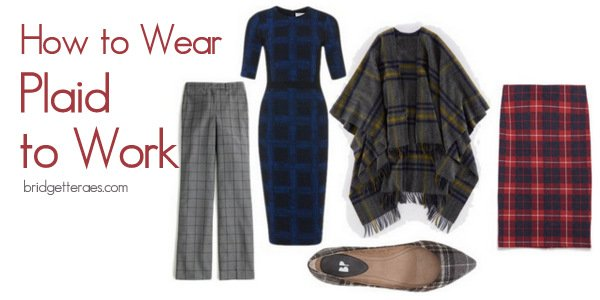 How to Wear Plaid to Work