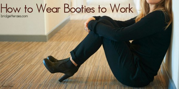 How to Wear Booties to Work