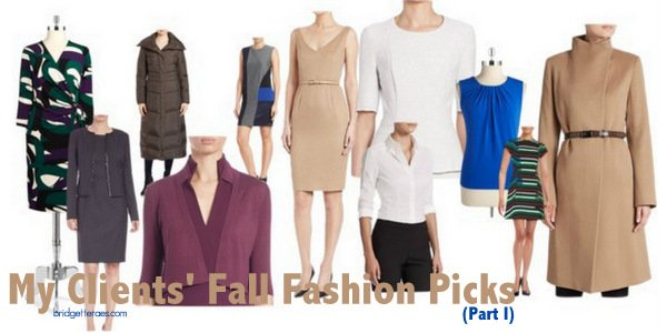 Fall Fashion Picks Chosen by My Clients (Part 1)