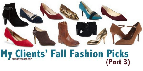 Fall Fashion Picks Chosen by My Clients (Part 3)