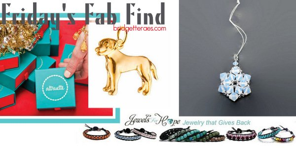 Friday's Fab Find: Altrutte and Jewels of Hope