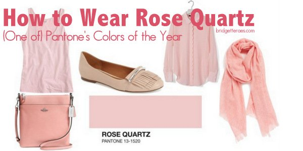 How to Wear Rose Quartz, One of Pantone's Colors of the Year