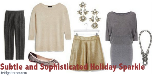 Sophisticated Outfits with Sparkle For the Holidays