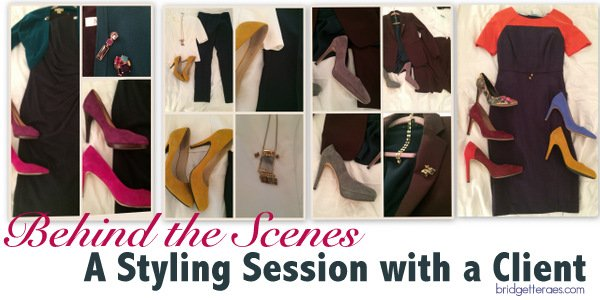 Behind the Scenes During a Client Styling Session