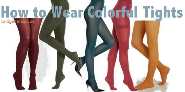 How to Wear Colorful Tights