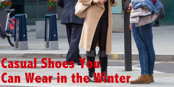 Casual Shoes You Can Wear in the Winter